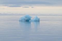 Spitsbergen-zonlichtstrepen