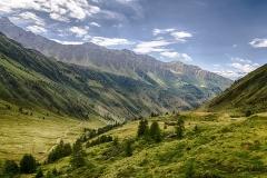 Landschap bergen