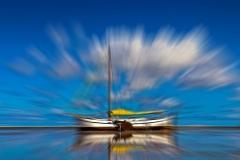 Kleur - Zeilboot